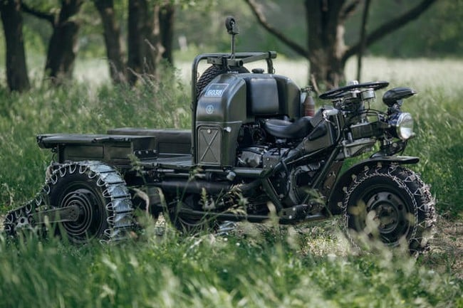 Moto Guzzi Trike 'Autoveicolo Da Montagna' 10