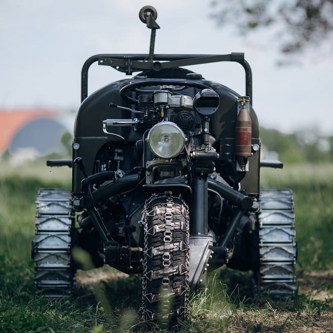 Moto Guzzi Trike Autoveicolo Da Montagna 11