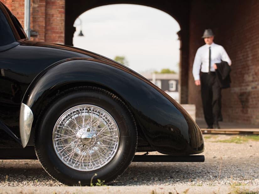 Rim, 1938 Bugatti Type 57C Atalante