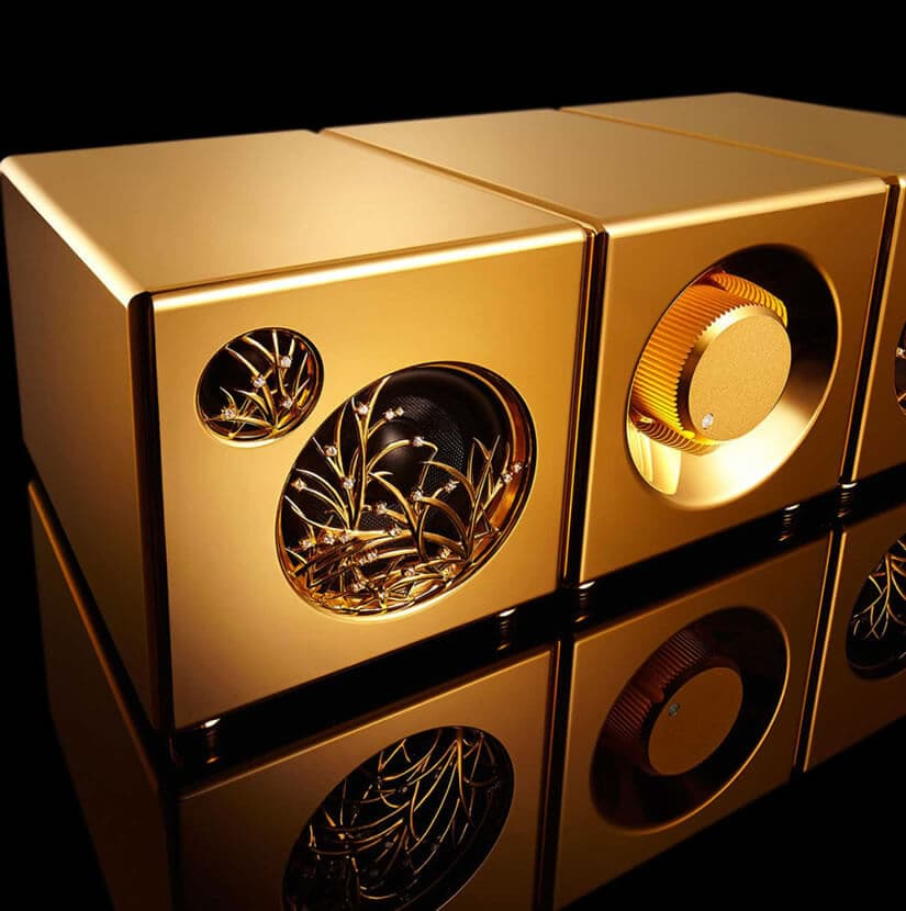 River'sTone Speaker System, Gold and Diamonds