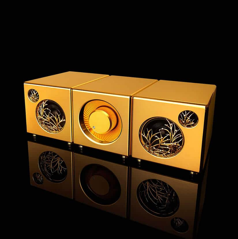 Solid Gold River'sTone Speaker System