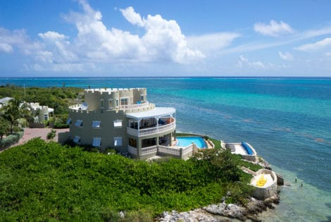 Spectacular Cayman Castle in the Caribbean