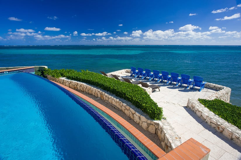 Spectacular View, Cayman Castle in the Caribbean