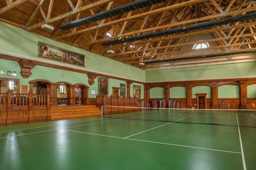 Tennis Court, Sowiniec Polo Club & Manor, Poland