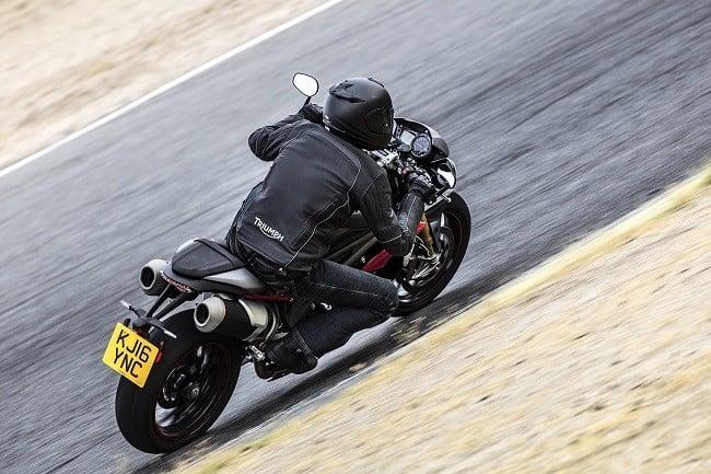 Triumph Speed Triple R and Triple S 12