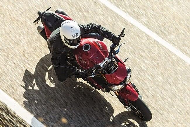 Triumph Speed Triple R and Triple S 5