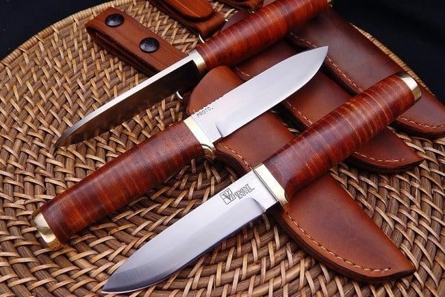 Vehement Knives Leather Bushcrafter 2