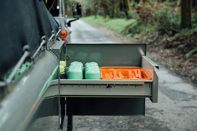 1982 Land Rover Series 3 + Camping Trailer 16