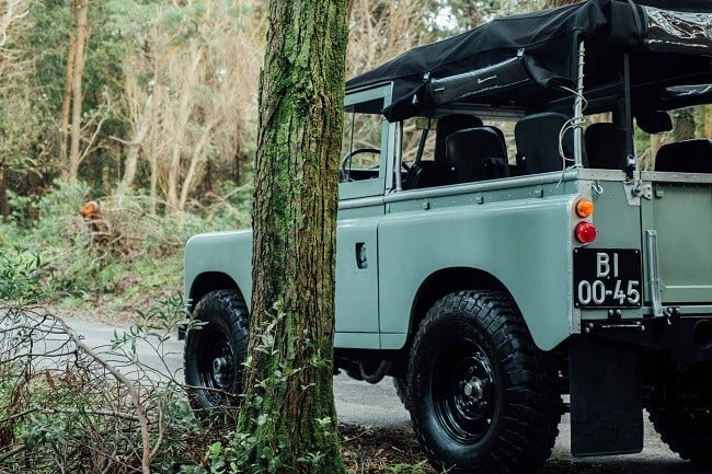 1982 Land Rover Series 3 + Camping Trailer 18