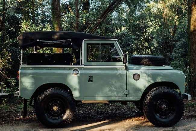 1982 Land Rover Series 3 + Camping Trailer 2