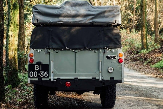 1982 Land Rover Series 3 + Camping Trailer 5