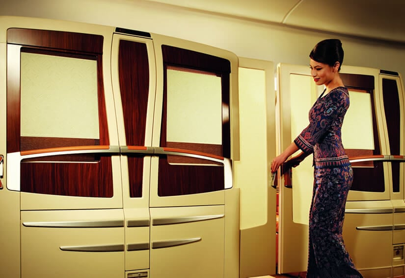 An unprecedented level of privacy Singapore Airlines Suite