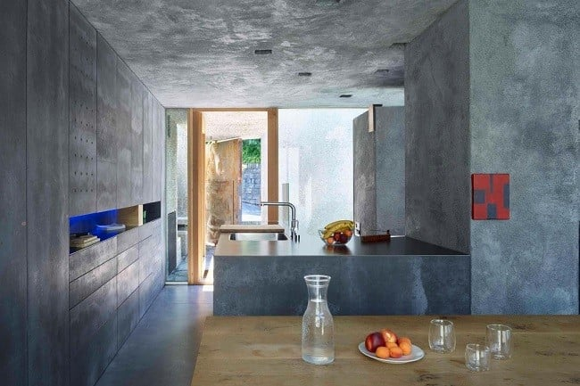 Concrete Bunker House in Switzerland 10