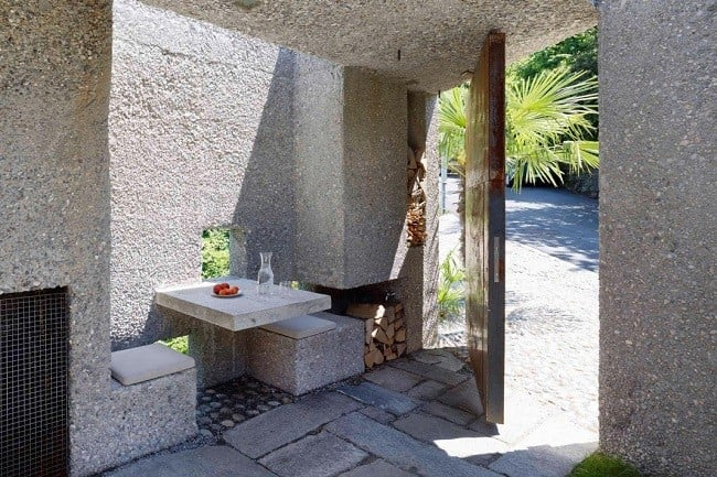Concrete Bunker House in Switzerland 4