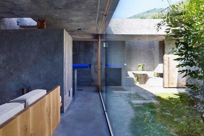 Concrete Bunker House in Switzerland 6