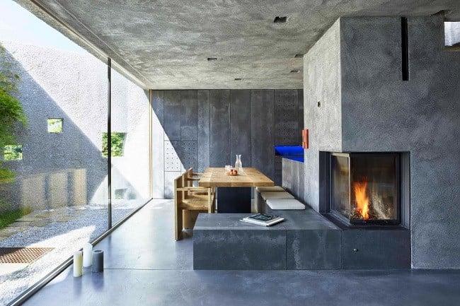 Concrete Bunker House In Switzerland Men S Gear