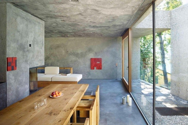 Concrete Bunker House in Switzerland 8