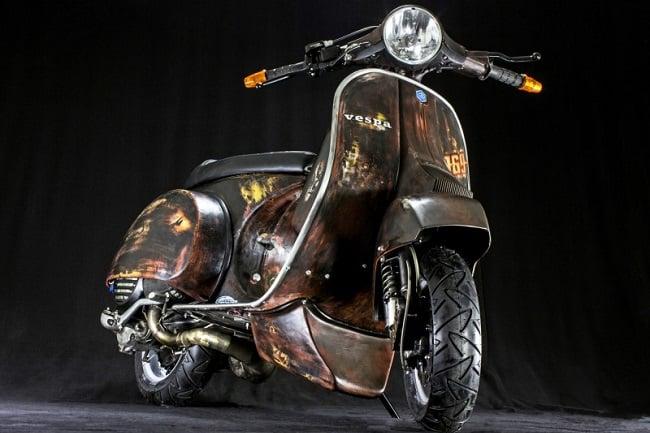 custom vespas by scooter service men 39 s gear. Black Bedroom Furniture Sets. Home Design Ideas