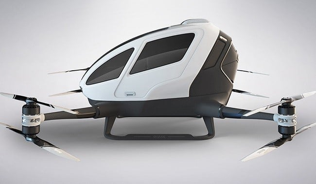 Ehang 184 Autonomous Aerial Vehicle 1