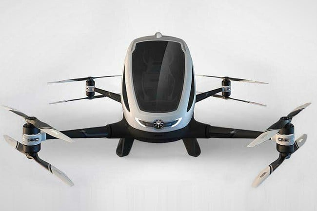 Ehang 184 Autonomous Aerial Vehicle 6
