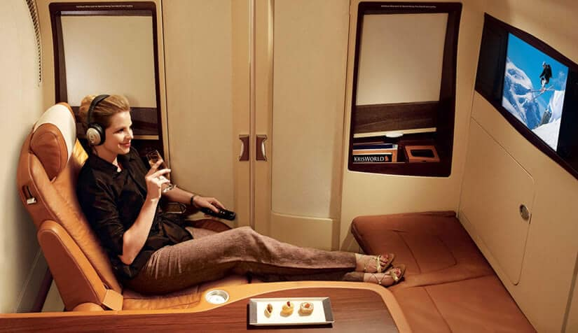 First Class Suite Singapore Airlines