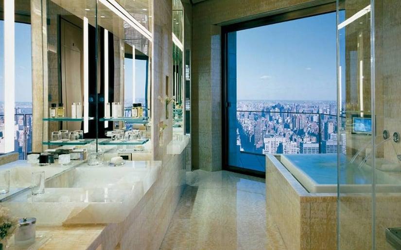 Four Seasons Ty Warner Penthouse bathroom