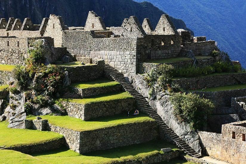 Industrial district Machu Picchu Peru