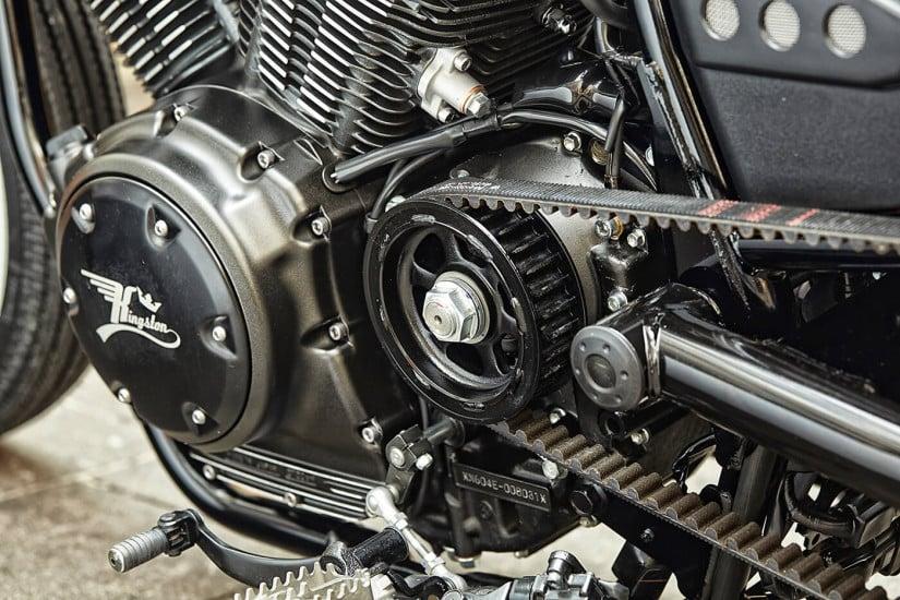 Kingston Customs Yard Built XV950 The Face Engine
