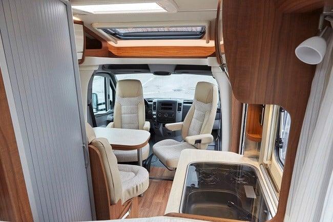 Mercedes Hymer Van S Motorhome 12