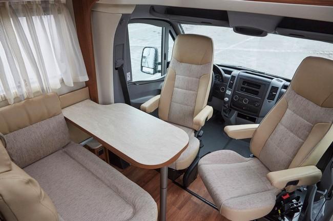 Mercedes Hymer Van S Motorhome 14