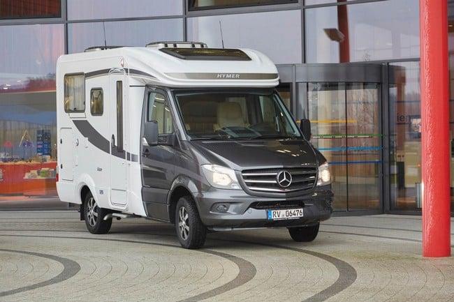 Mercedes Hymer Van S Motorhome 19