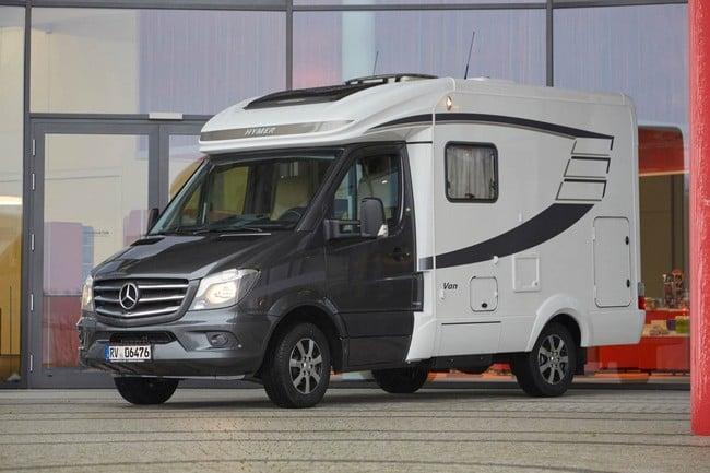 Mercedes Hymer Van S Motorhome 20