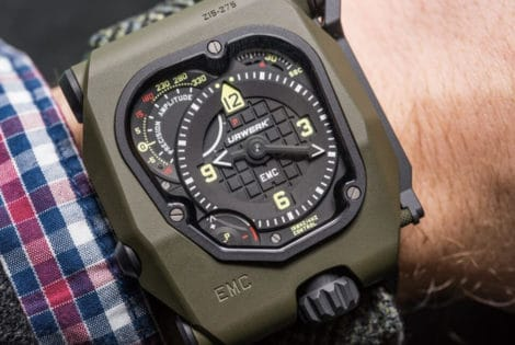 Military Luxury - Urwerk EMC Time Hunter
