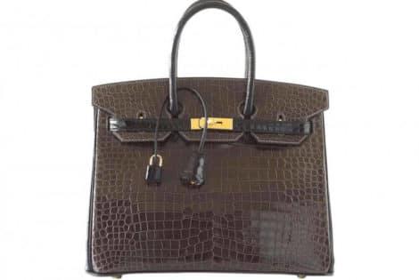 Rare Croc Birkin Bag Sold for Almost $100,000