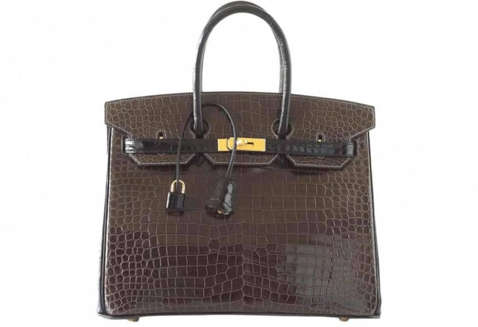 Rare Croc Birkin Bag Sold for Almost $100,000