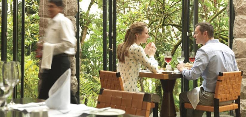 Sanctuary lodge Machu Picchu restaurant