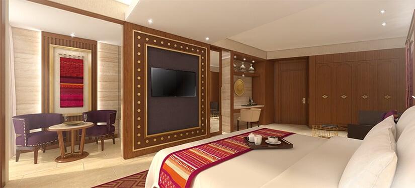 Sumaq Machu Picchu Hotel - bedroom