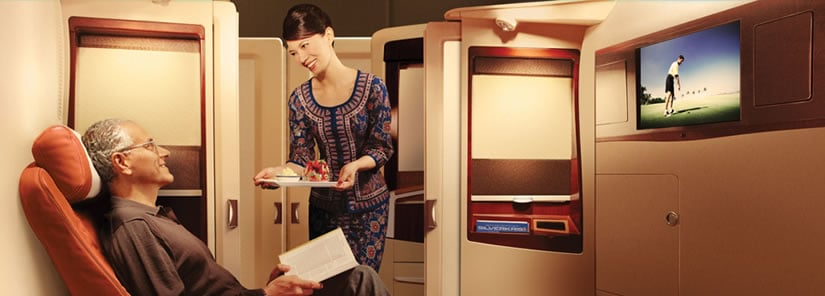 The Singapore Airlines Suites, your haven of luxury