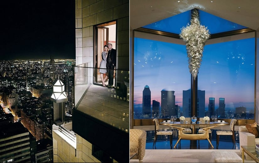 Ty Warner Penthouse view pictures
