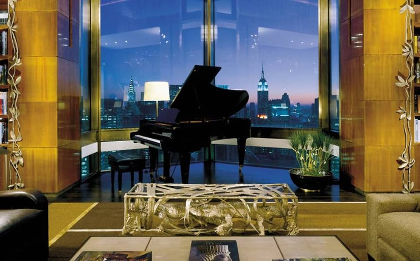 Ty Warner Penthouse view