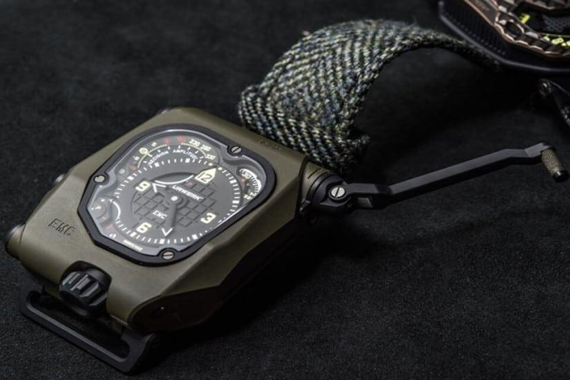Urwerk EMC Time Hunter Watch