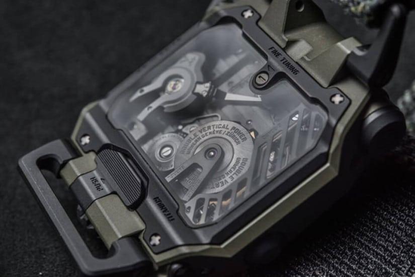 Urwerk EMC Time Hunter - expensive watch