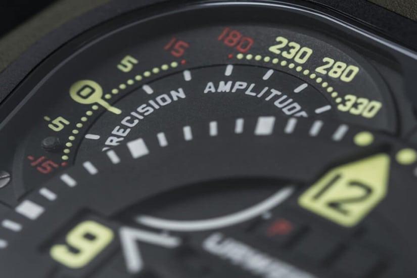 Urwerk EMC Time Hunter - luxury timepiece