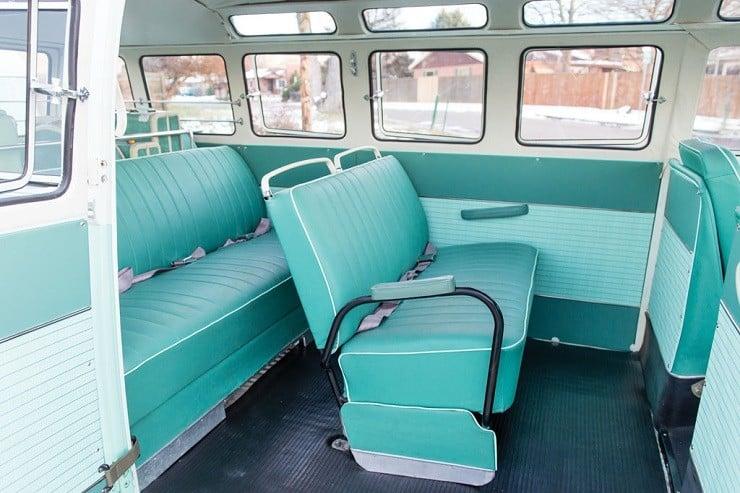 1963 Volkswagen Super Deluxe Microbus with Camper 1