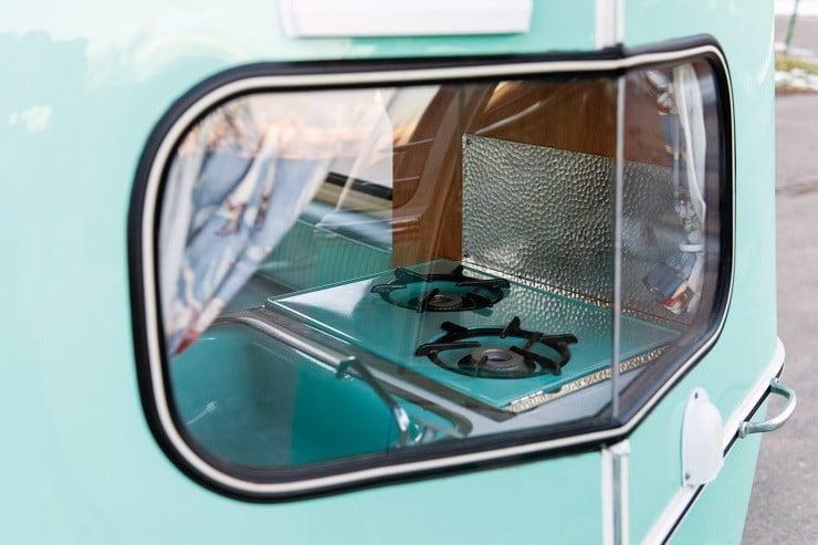 1963 Volkswagen Super Deluxe Microbus with Camper 16