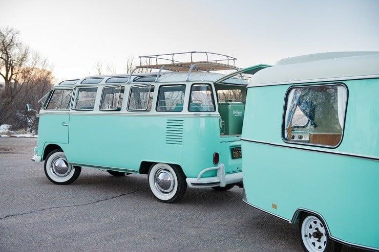 1963 Volkswagen Super Deluxe Microbus with Camper 18