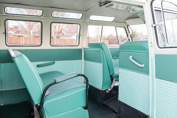 1963 Volkswagen Super Deluxe Microbus with Camper 2