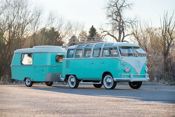 1963 Volkswagen Super Deluxe Microbus with Camper 20