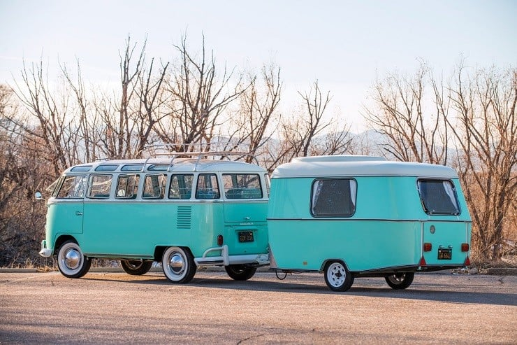 1963 Volkswagen Super Deluxe Microbus with Camper 7