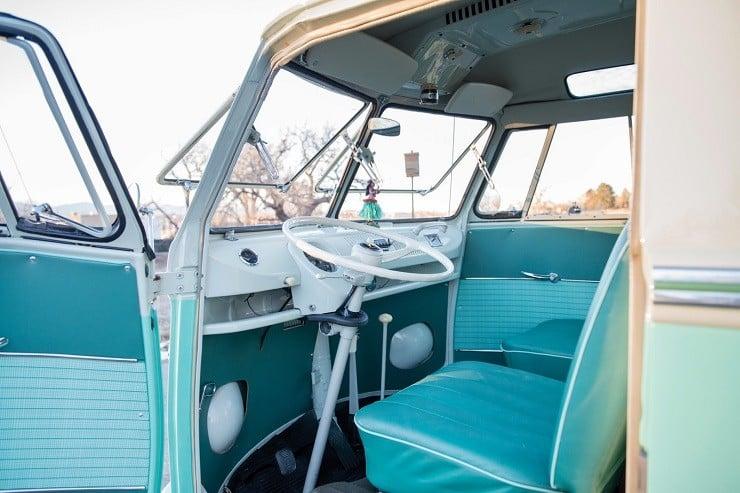 1963 Volkswagen Super Deluxe Microbus with Camper 9